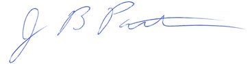 Jim Patterson signature