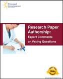 Research Paper Authorship